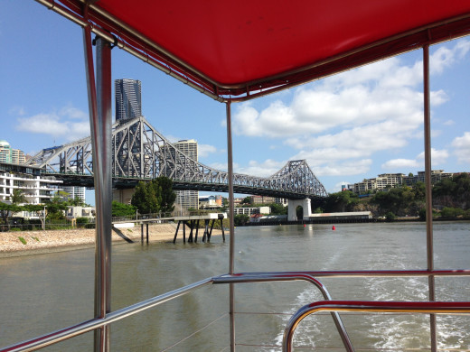 On board City Hopper, Brisbane's free ferry service. Image by Erwin Cabucos