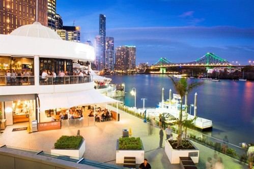 EagleStreet Pier - famous for food.Image from eaglestreetpier.com.au