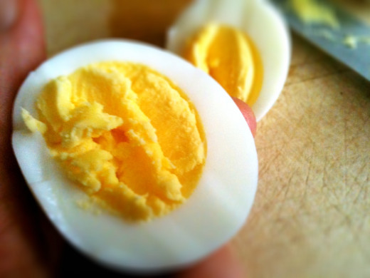 Hard boiled eggs often lose out to their scrambled counterparts. Be sure to use the spice of life, variety, and in turn live your life sunny side up!