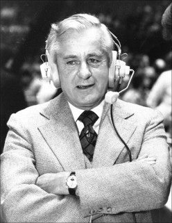 Hall of Fame Broadcaster Curt Gowdy