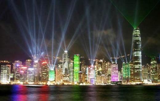 Shot of Hong Kong......