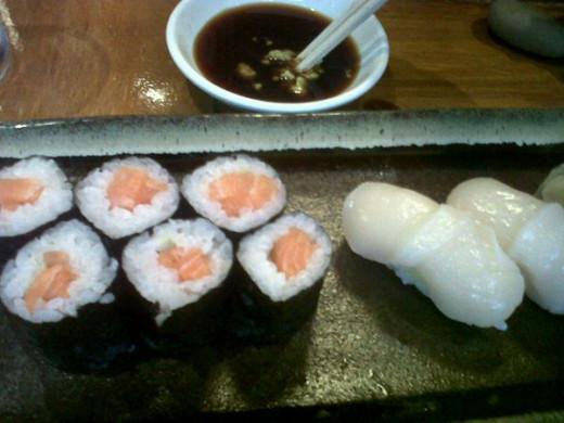 Endless sushi!