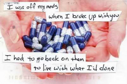 Stay vigilant if you are on meds for a chemical imbalance, and don't take them for granted.  At the same time, don't take meds to solve life's problems.  One is necessity - one is temporary.