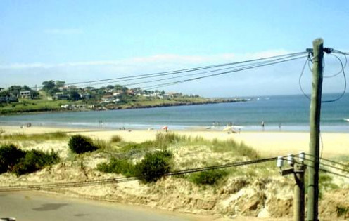 Beach at Punta Colorada