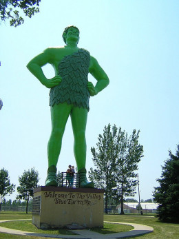 Green Giant, Blue Earth, MN