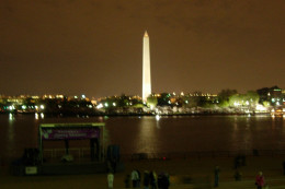 Washington, DC  by night, April 2008.