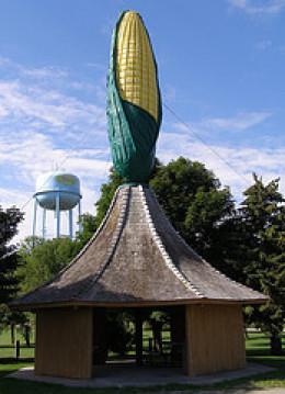Corn monument, Olivia