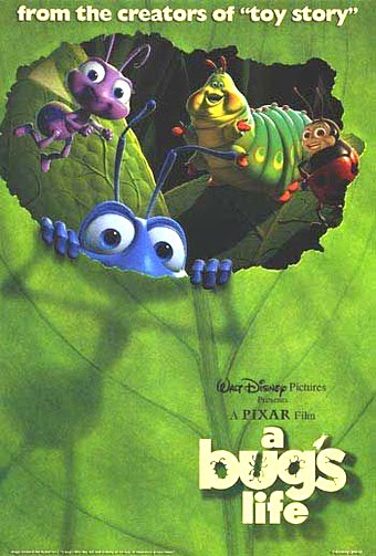 "Promotional poster for ""A Bug's Life"""