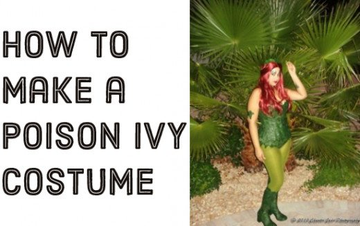 DIY: How to make a Poison Ivy costume