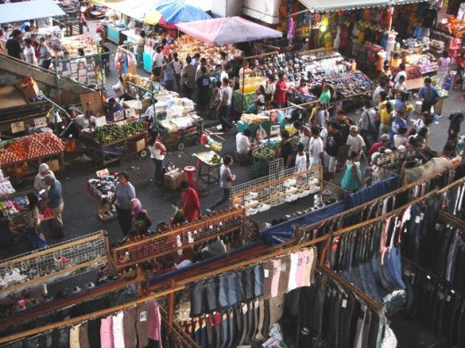 Baclaran Market District
