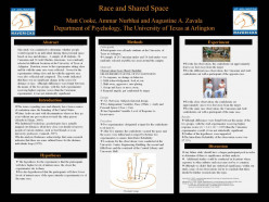 Race and Shared Public Space