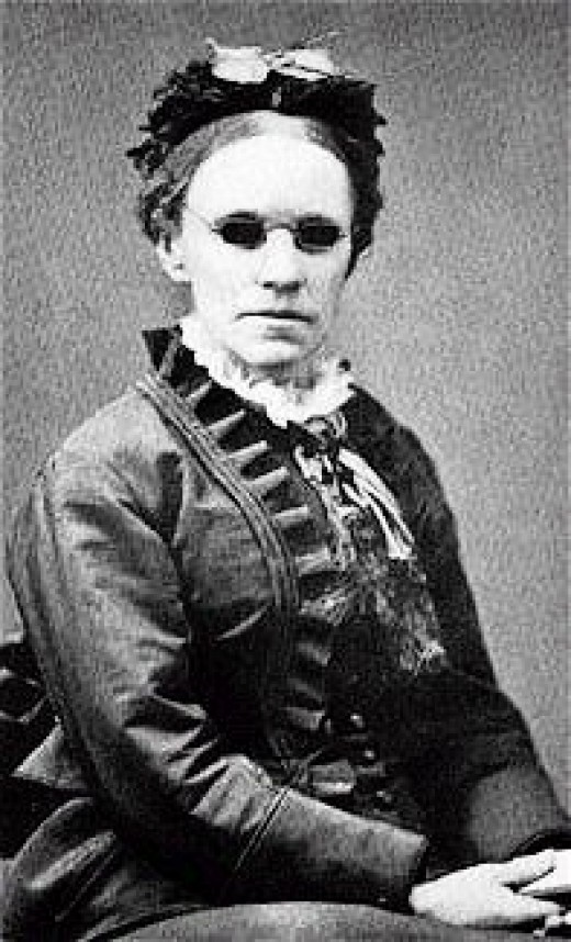 """Fanny Crosby, blinded at six weeks of age, wrote the hymn, """"Pass Me Not O Gentle Savior"""