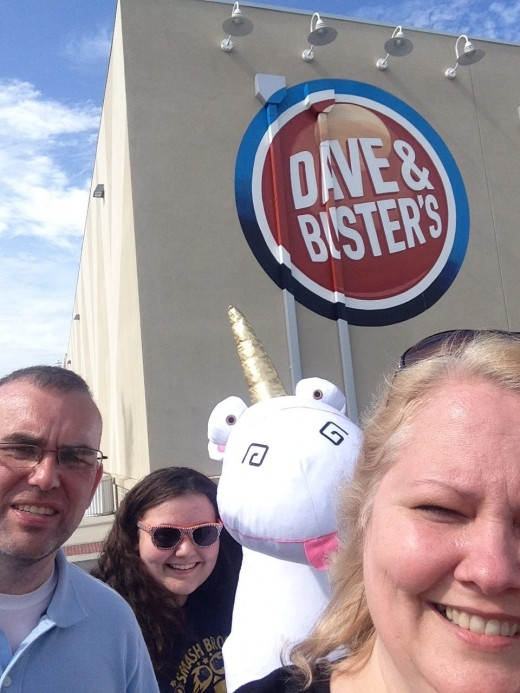 If you love arcades, you'll love Dave & Buster's.
