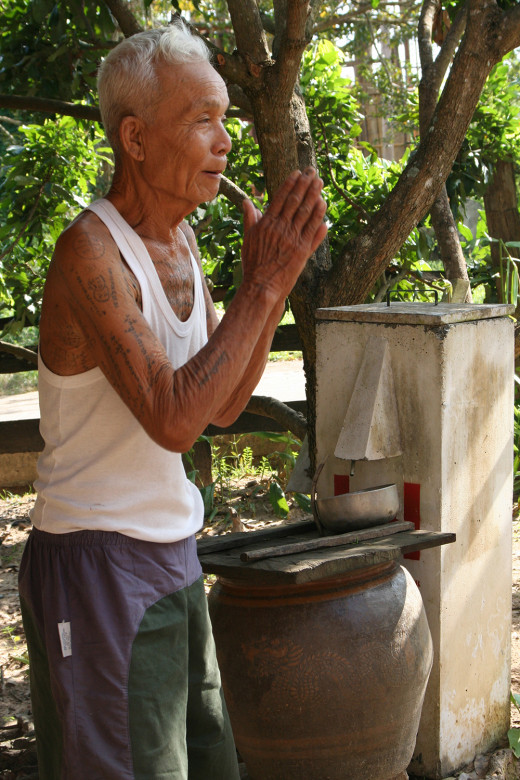 We work with the Rain Tree Foundation to help bring clean drinking water by installing bio sand filters to residents of Mae Pun Dung in Northern Thailand.