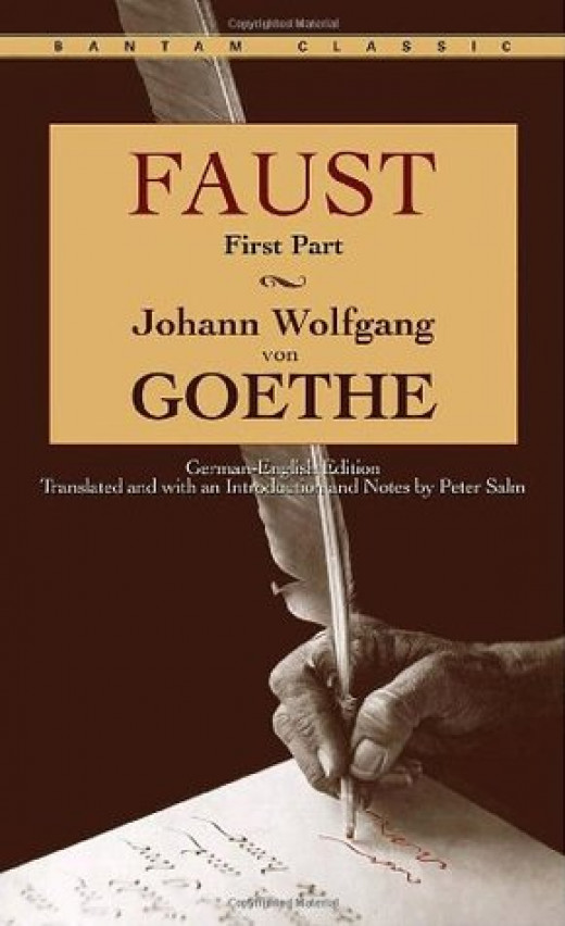 Page adaption of the Faust story by Johann Wolfgang von Goethe.