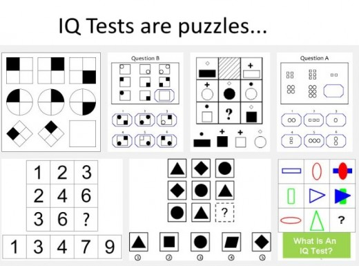 IQ tests are puzzles. The better you are at puzzles, the better you will do at an IQ test.