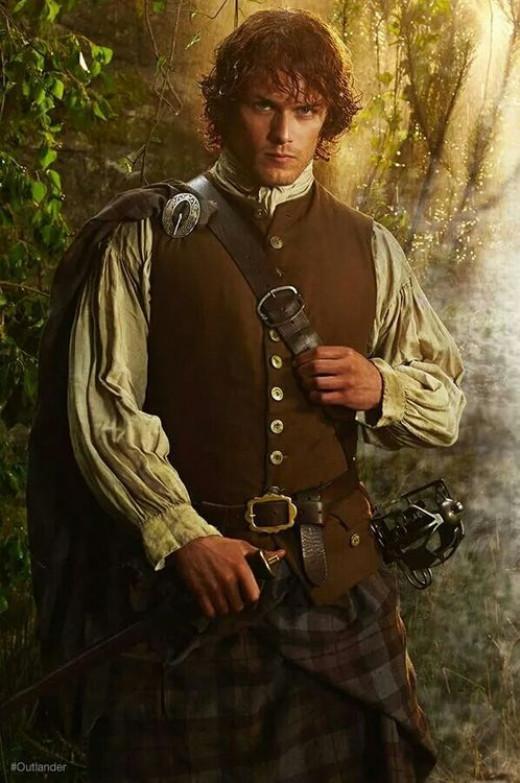 Jamie Fraser Outlander Scottish Costume