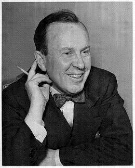 Newspaper photograph of Lester Pearson in August 1944 published in the Star Newspaper Toronto.