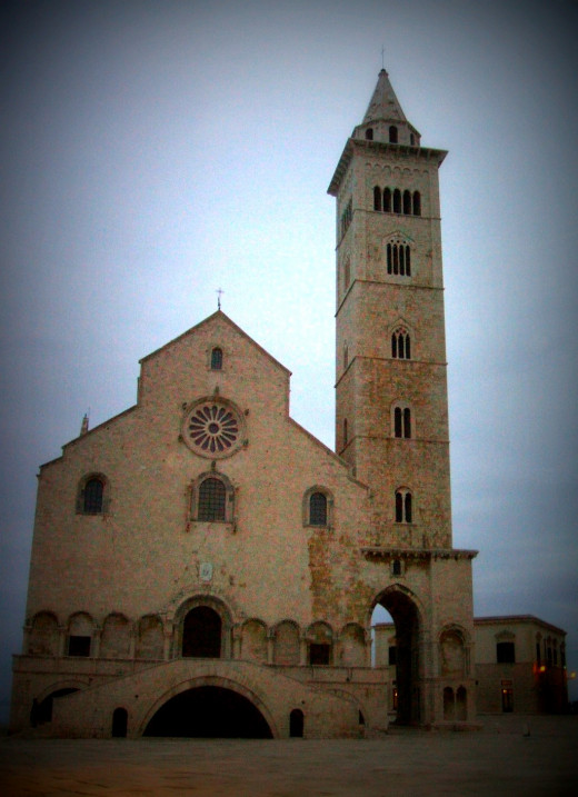 Cathedral di Trani, the main monument in Trani, Puglia.