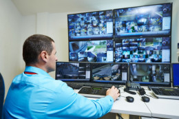 Video surveillance helps prevent thefts and increase employee performance