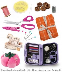 Operation Christmas Child Shoebox Ideas Girl 10 14