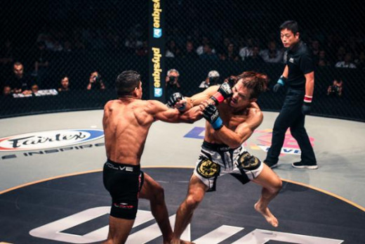 Herbert Burns out-striked a Japanese knock out artist Hiroshige Tanaka on his way to a unanimous decision victory at One FC 19