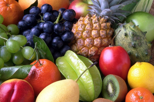 Fruits contain a lot of oils rich in beneficial properties.