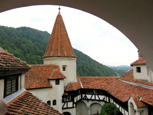 "Bran Castle, otherwise known as ""Dracula's Castle"", Transylvania, Romania."