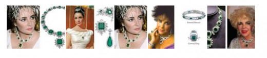 Liz Taylor had one of the most stunning collections of emeralds in the world.
