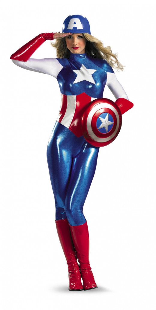 Captain America Adult 103
