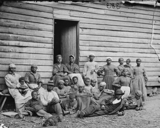 Slaves in Cumberland Landing were considered contrabands before the war even begin
