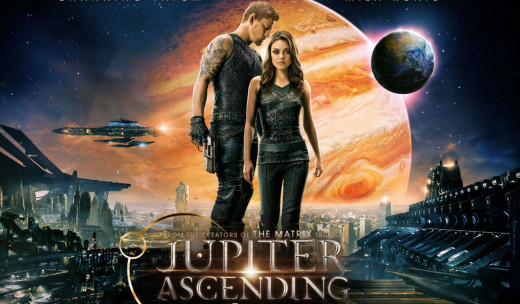 """Jupiter Ascending"" movie poster, 2015"
