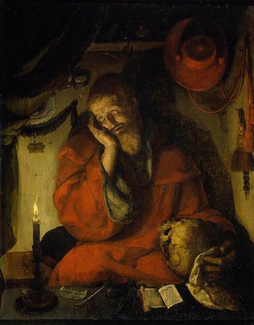 Saint Jerome: Aertgen van Leyden 1520