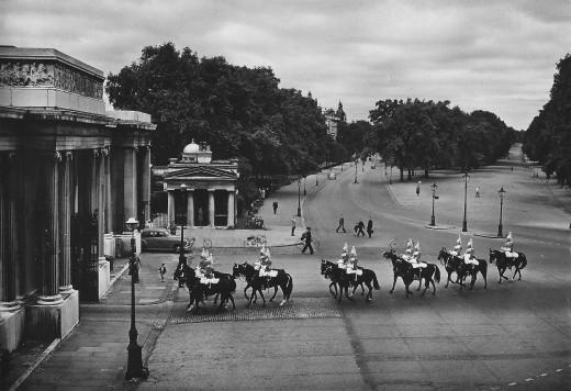 Into Hyde Park circa 1950s