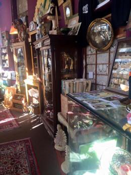 Antique shopping in Gastown
