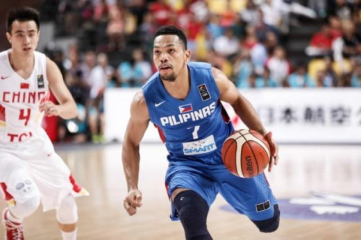 Jayson Castro, Member 2015 FIBA Asia Mythical Five, Best Point Guard in Asia