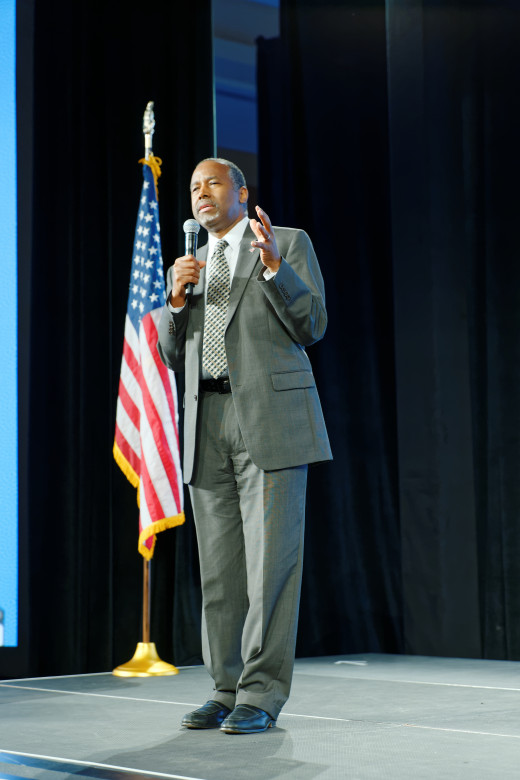 Dr. Ben Carson at the Souther Republican Leadership Conference