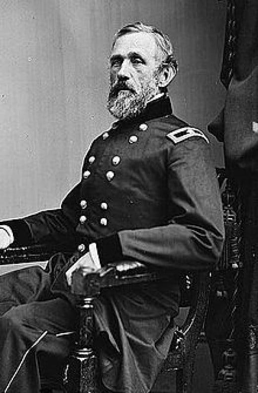 Major General John G. Bernard