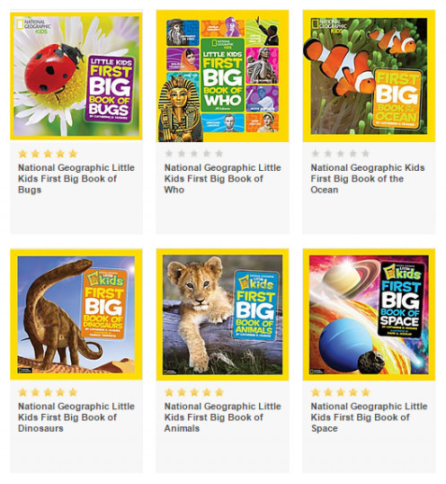 "Purchase more of the ""First Big Book"" series at Amazon"