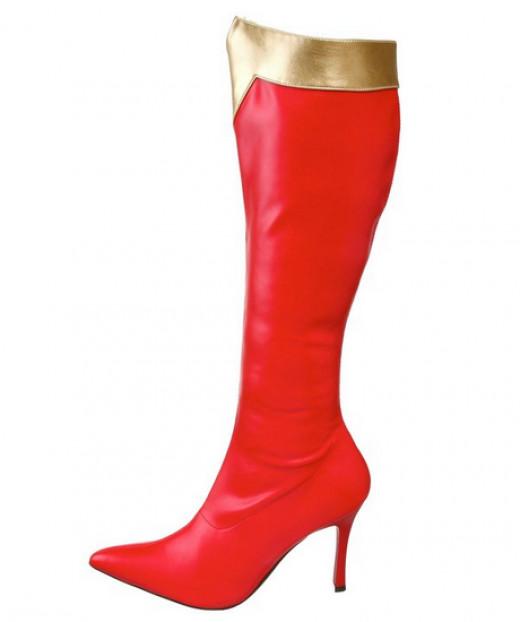 Best Wonder Woman knee high boots