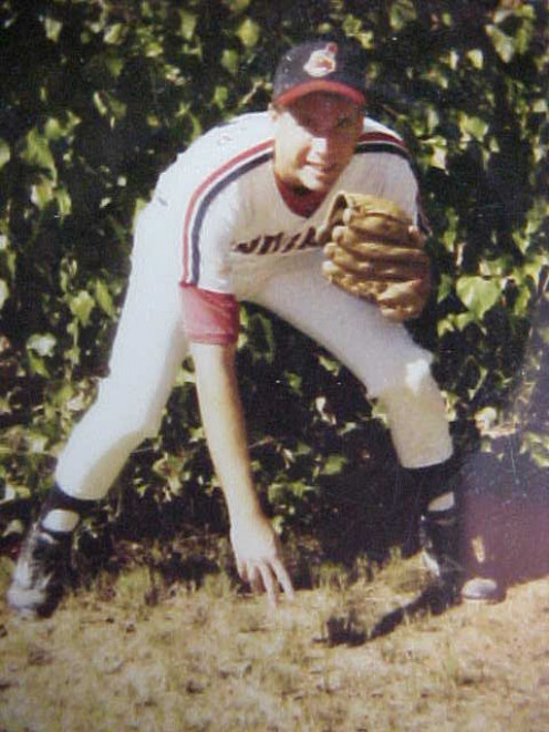 This was the author while on the Simi Valley Indians who traded me to J. R. 's team the Tri-Valley Indians the following year.
