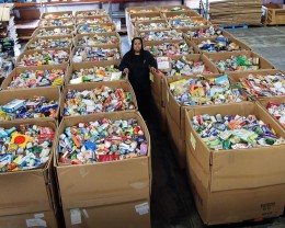 Picture of a food bank.