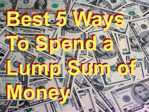 What is the best way to use an unexpected lump sum? Windfalls are hard to come by, and one you've got your hands on one, you should plan carefully how to use it.