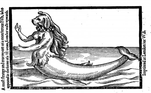 The artists impression of the Gilman's Point Mermaid
