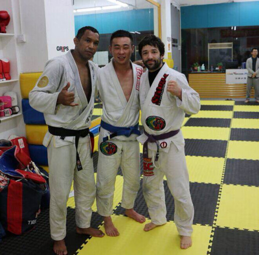 Jamaican, Canadian and Chinese Judo Masters in Shenzhen, South China