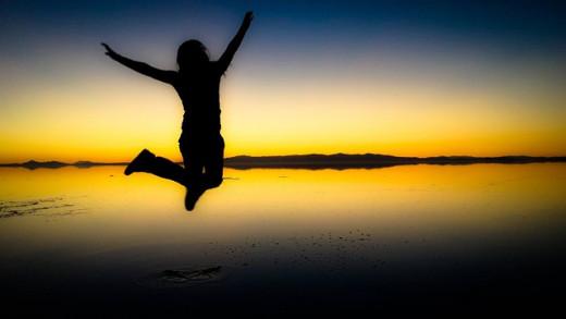Jumping, celebration