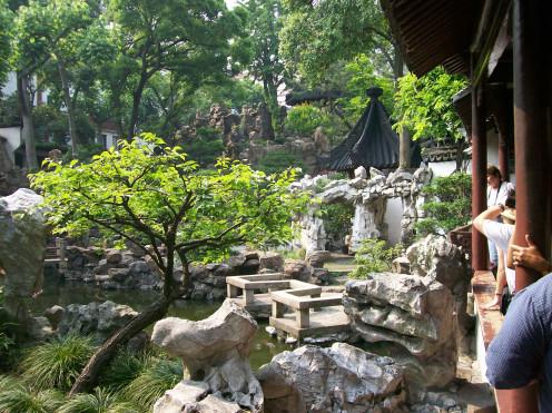 The Lingering Garden in Suzhou, China.
