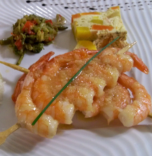 Shrimp can be grilled very easily on skewers and served immediately. See the fabulous collection of wonderful recipes you can make at home.
