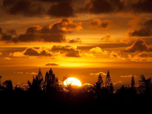 A Magnificent Sunrise