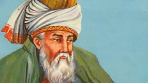 Rumi, the mystic poet